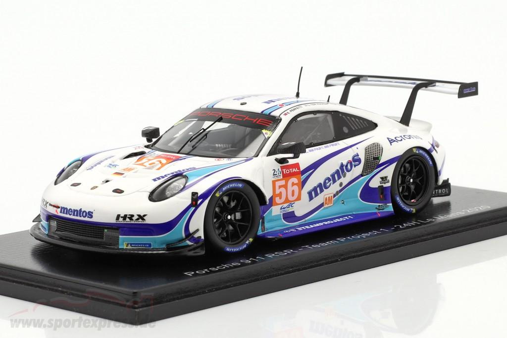 Porsche 911 RSR #56 24h LeMans 2020 Team Project 1