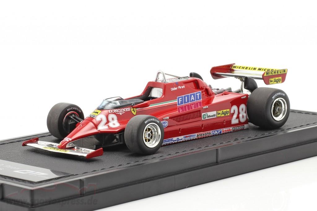 Didier Pironi Ferrari 126CK #28 formula 1 1981 1:43