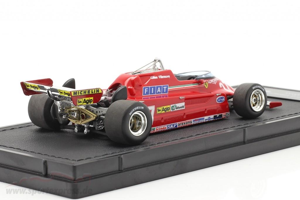 Gilles Villeneuve Ferrari 126CK #27 formula 1 1981