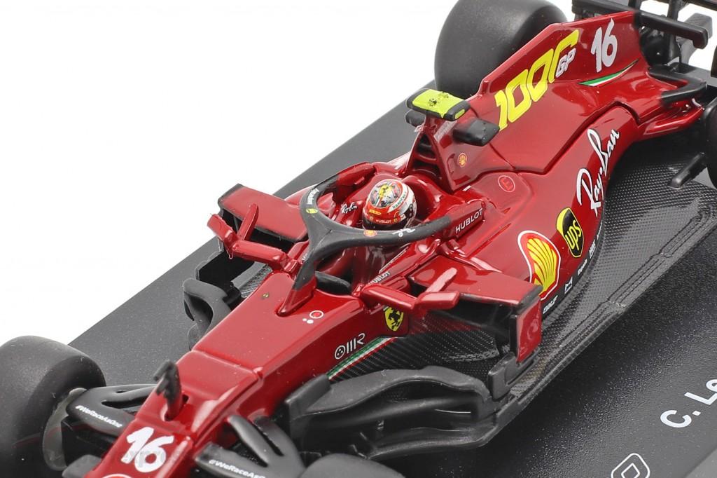 C. Leclerc Ferrari SF1000 #16 1000th GP Ferrari Tuscany GP F1 2020