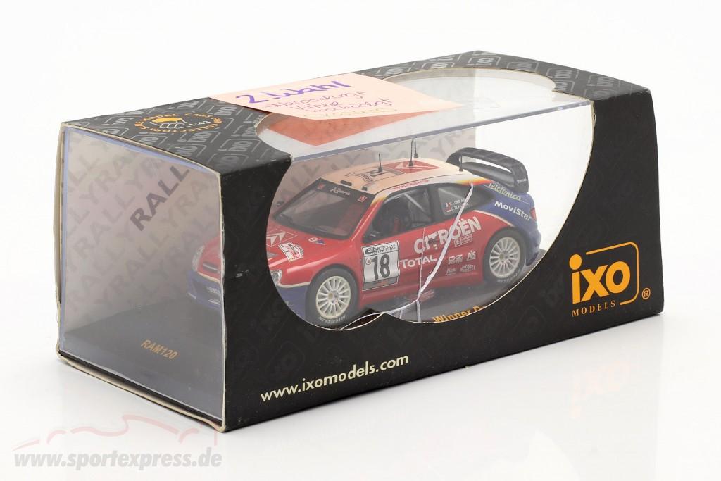 Citroen Xsara WRC #18 Winner Germany rally 2003 Loeb, Elena   / 2nd choice