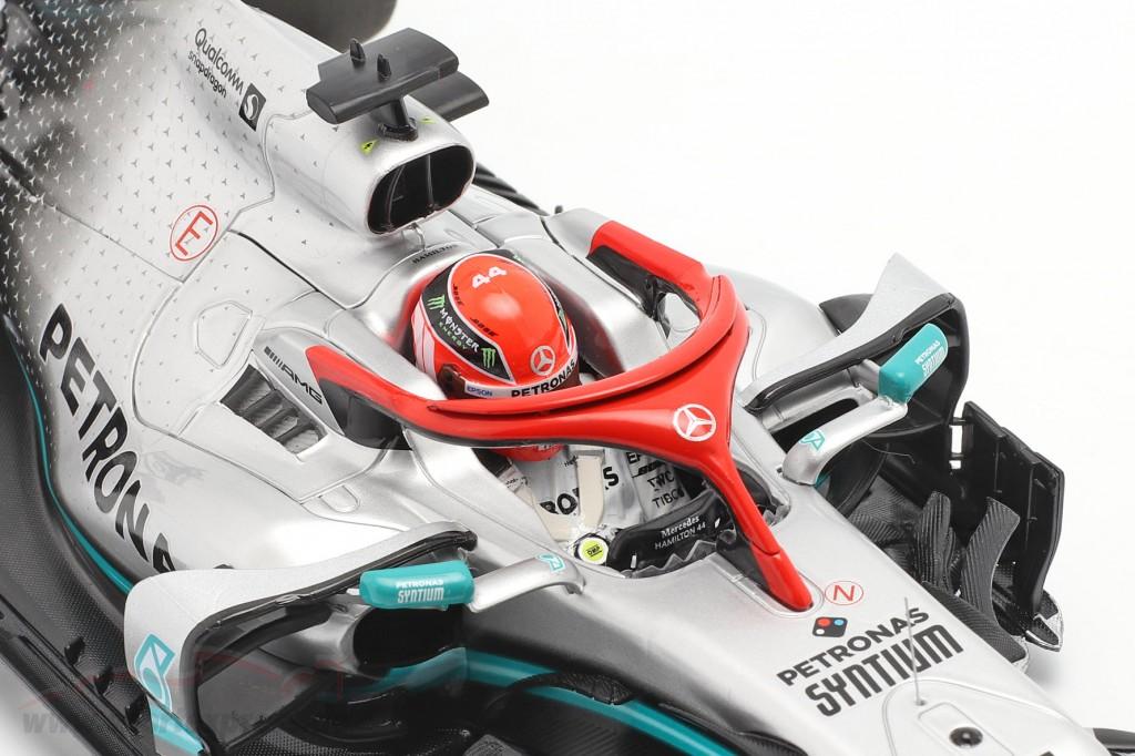 L. Hamilton Mercedes-AMG F1 W10 #44 Monaco GP F1 World Champion 2019