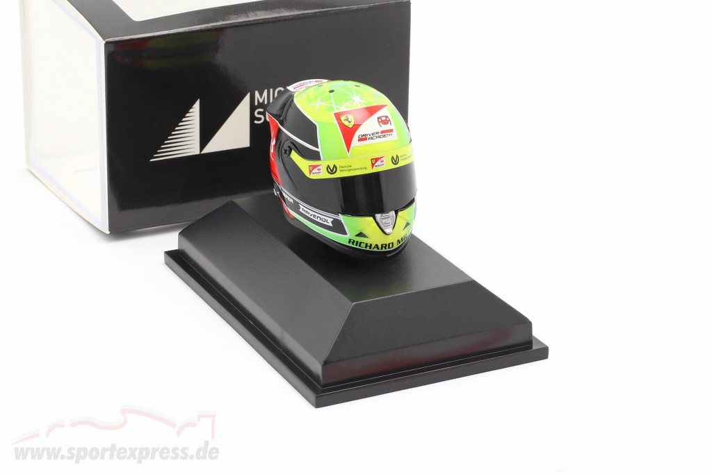 Mick Schumacher Prema Racing #20 formula 2 champion 2020 helmet
