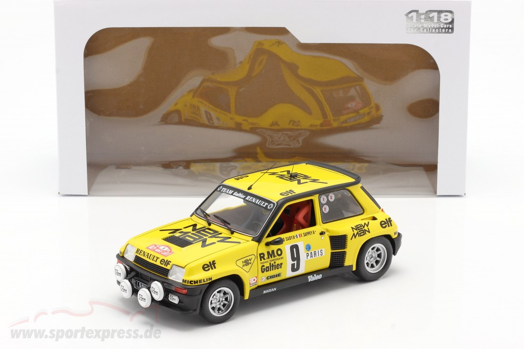 Renault 5 Turbo #9 5th Rallye Monte Carlo 1982 Saby, Sappey