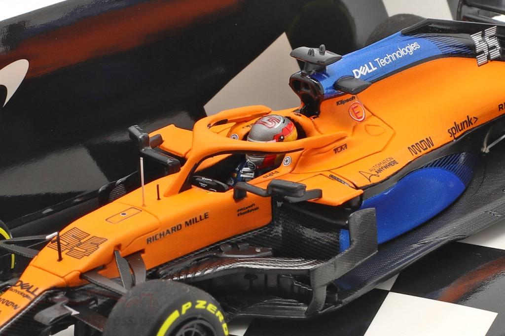 Carlos Sainz jr. McLaren MCL35 #55 Launch Spec formula 1 2020