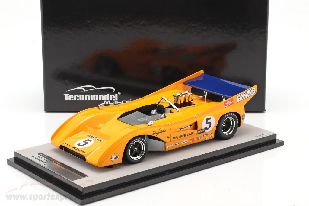 McLaren M8F #5 Winner Mosport Park Can-Am Series 1971 D. Hulme