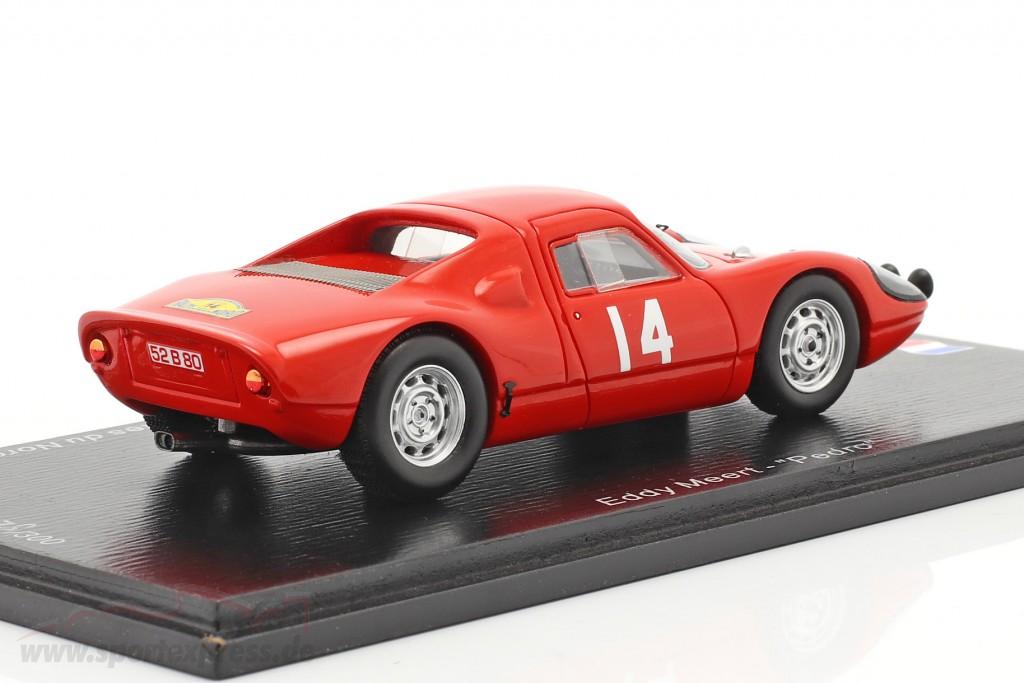 Porsche 904 Carrera GTS #14 Winner Rallye des Routes du Nord 1965