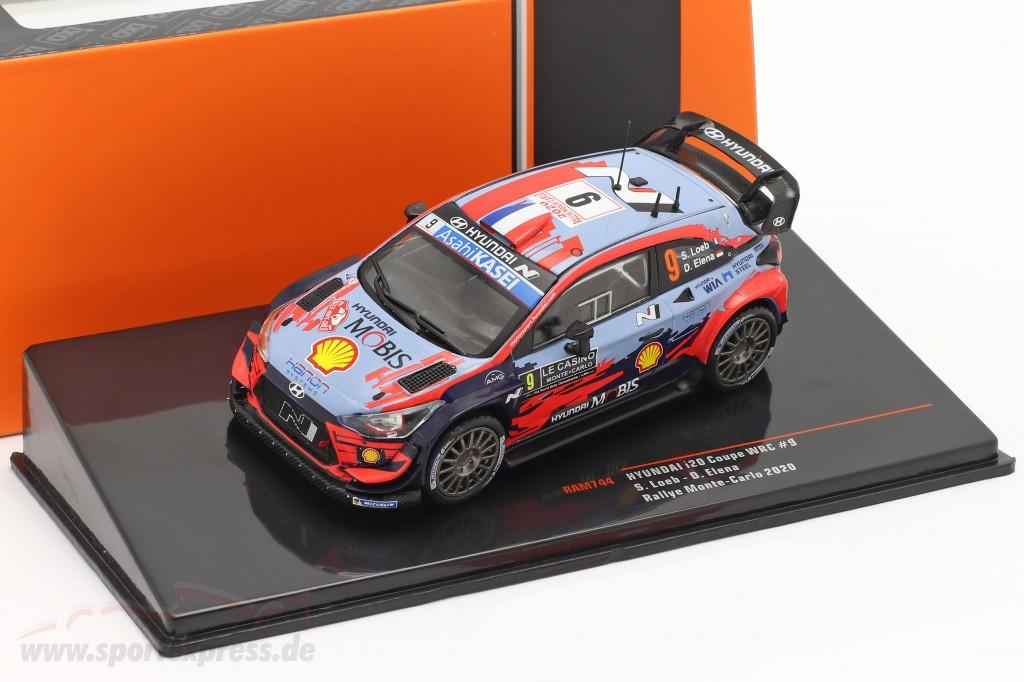 Hyundai i20 Coupe WRC #9 Rally Monte Carlo 2020 Loeb, Elena