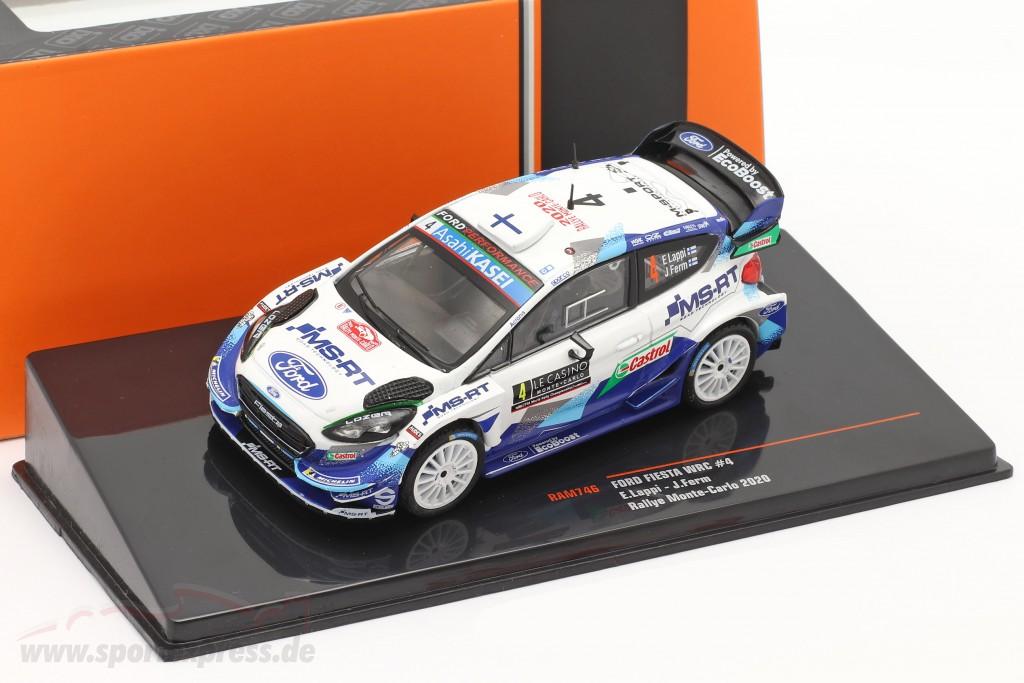 Ford Fiesta WRC #4 Rally Monte Carlo 2020 Lappi, Ferm