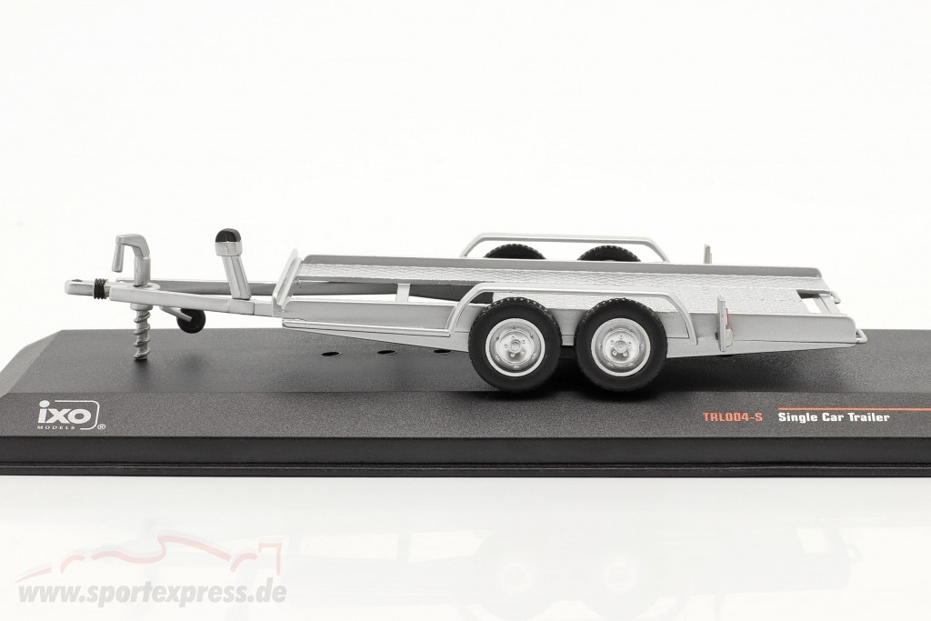 Car trailer silver