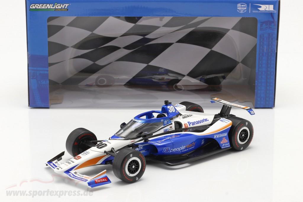 Takuma Sato Honda #30 Winner Indy 500 IndyCar Series 2020