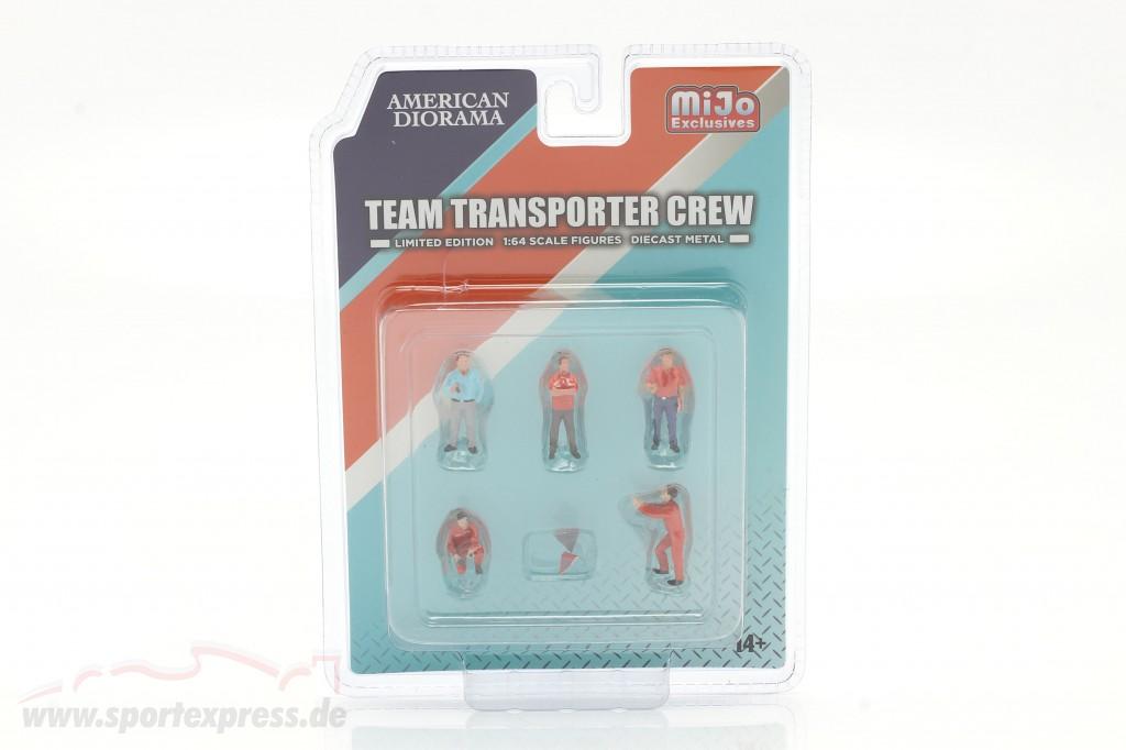 Team Transporter Crew Figure set