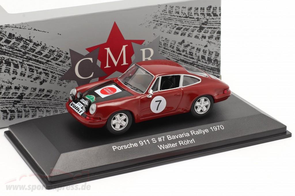 Porsche 911 S #7 Bavaria Rallye 1970 Röhrl, Marecek