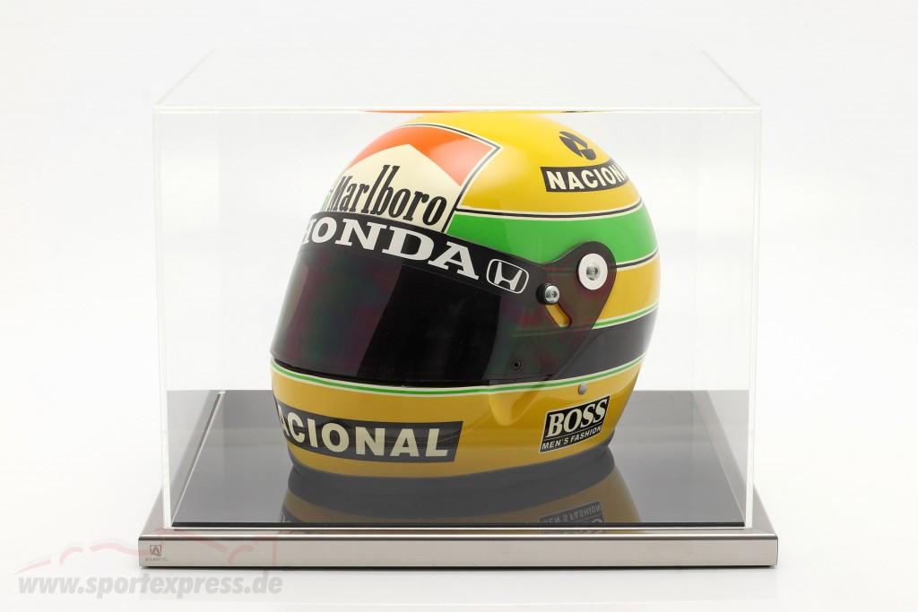High quality  acrylic Showcase 38 x 36,5 x 27,5 cm for original helmets