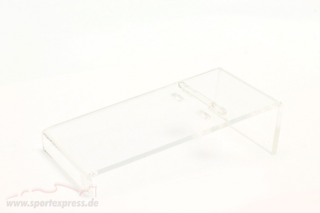 acrylic HillRamp Presentation ramp for modelcars in scale