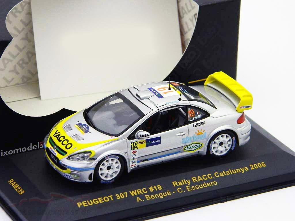 Peugeot 307 WRC #19 rally RACC Catalunya 2006   / 2nd choice