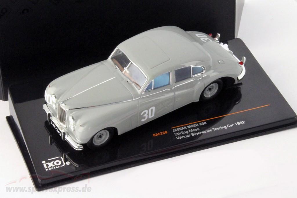 Stirling Moss Jaguar MKVII #30 winner Silverstone Touring Car 1952   / 2nd choice