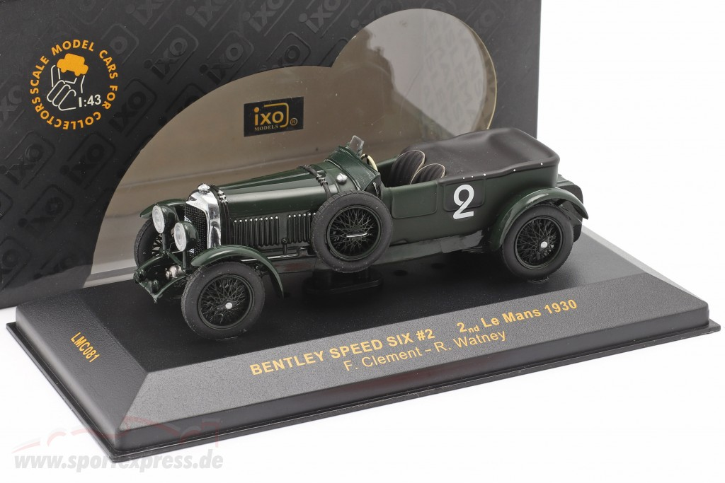 Bentley Speed Six #2 LeMans 1930 Clement, Watney   / 2nd choice