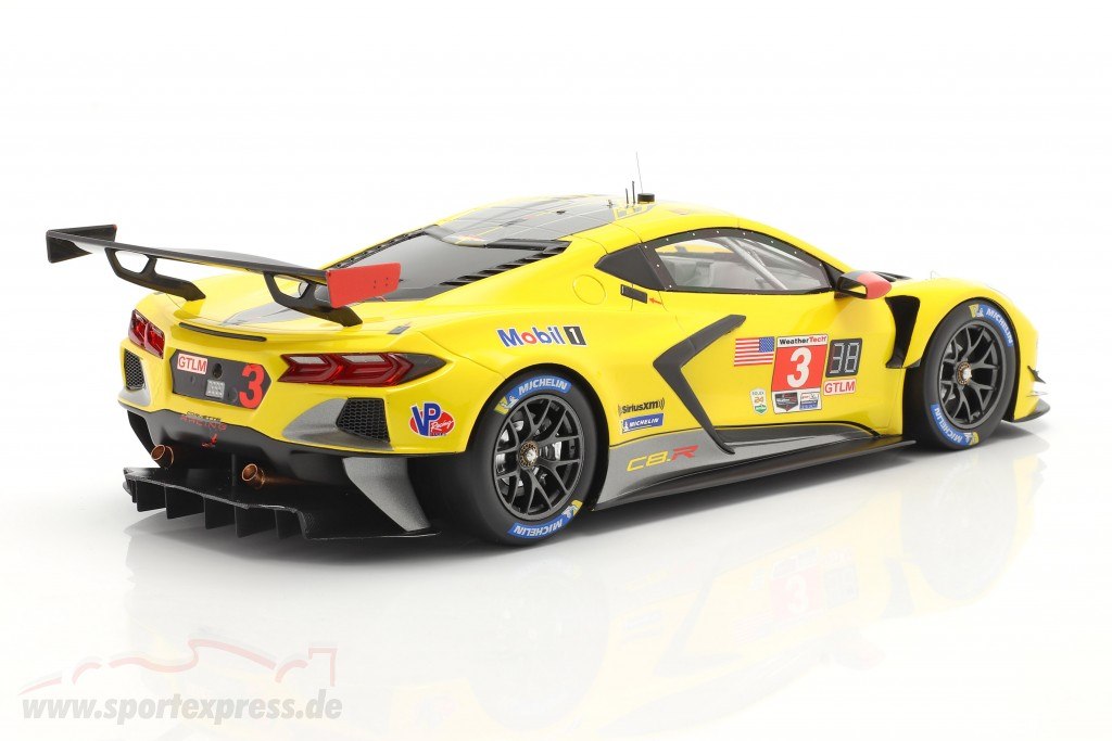 Chevrolet Corvette C8.R #3 4th Place 24h Daytona 2020 Corvette Racing