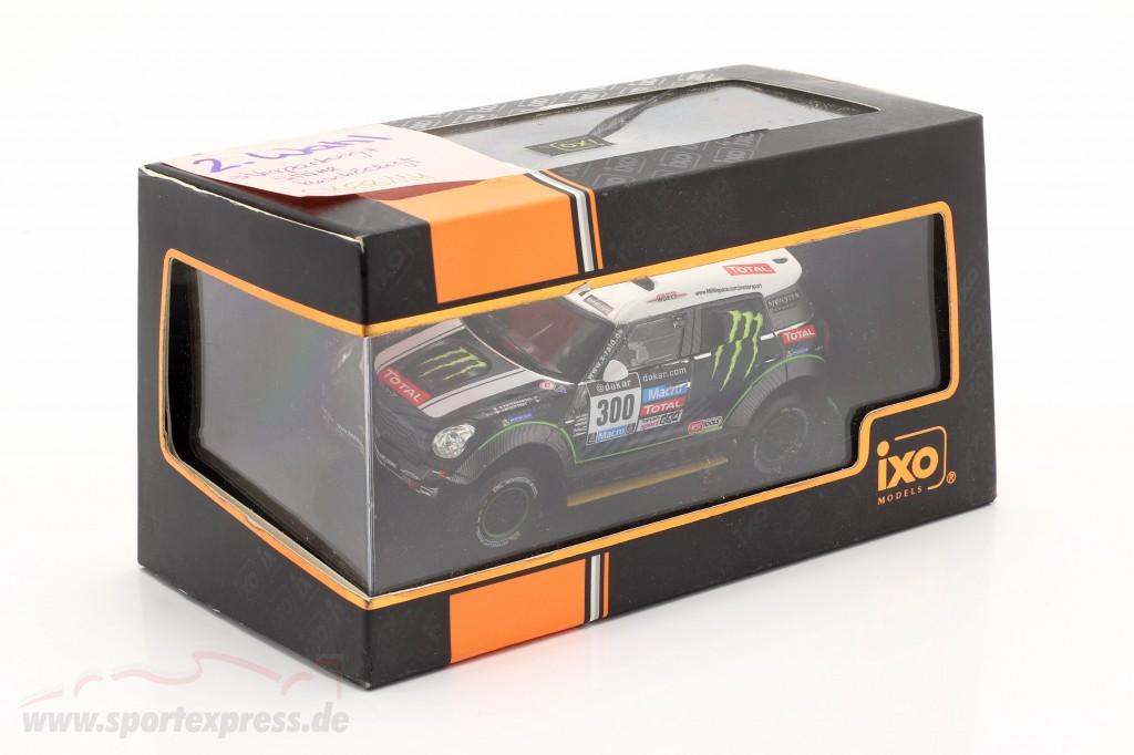 Mini All 4 Racing #300 2nd rally Dakar 2014 Peterhansel, Cottret   / 2nd choice