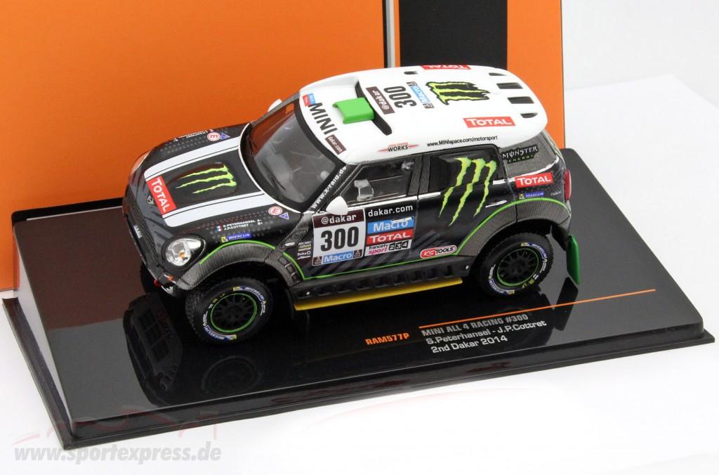 Mini All 4 Racing #300 2nd rally Dakar 2014 Peterhansel, Cottret   / 2. choice