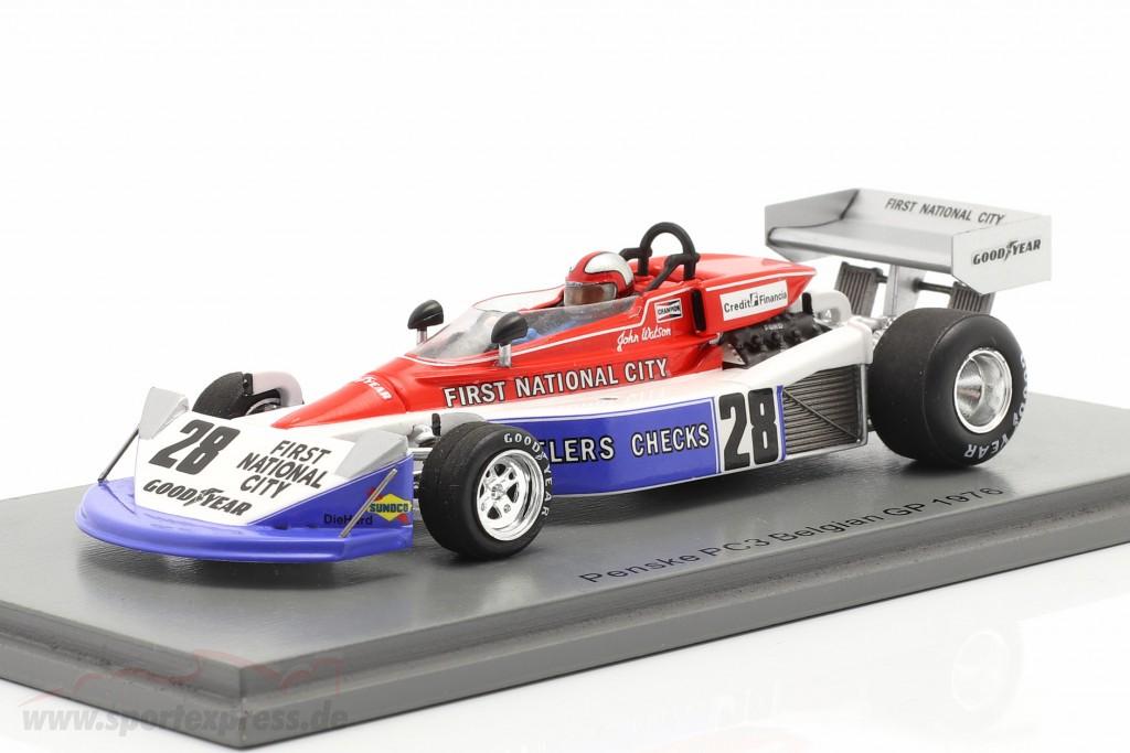 John Watson Penske PC3 #28 7th Belgian GP formula 1 1976