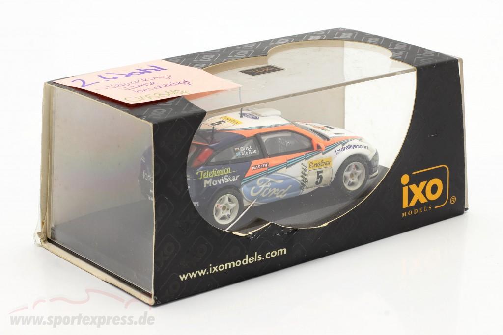 Ford Focus WRC #5 rally Monte Carlo 2002 Mc Rae, Grist   / 2nd choice