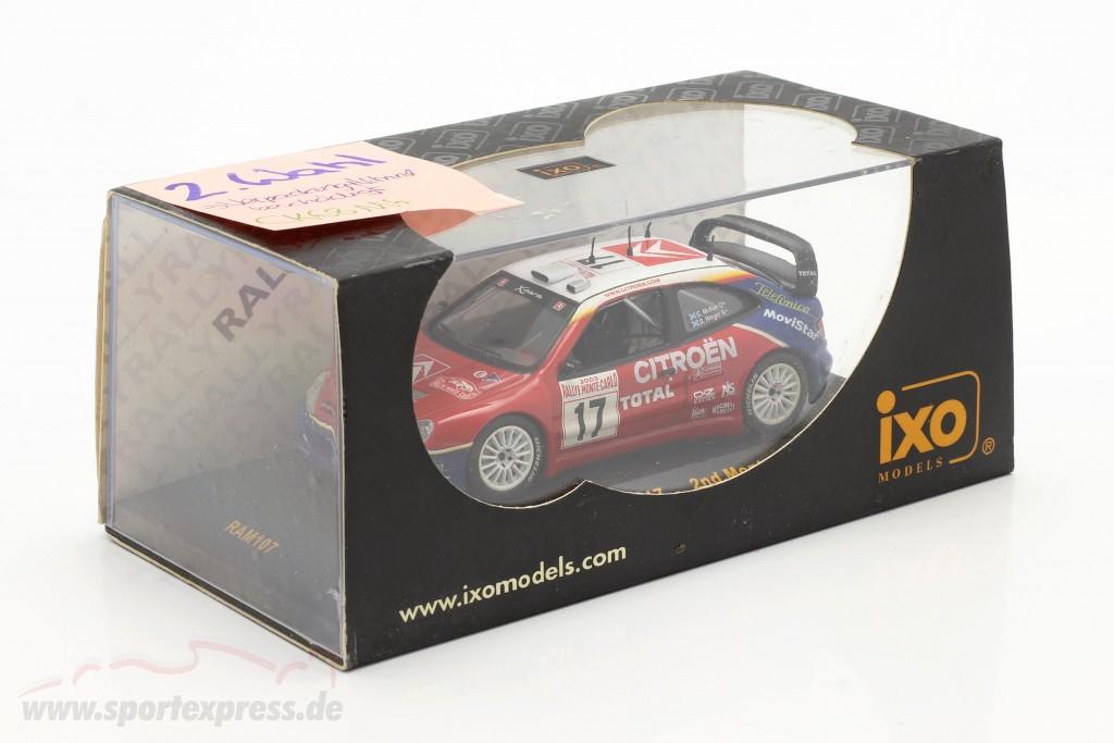 Citroen Xsara WRC #17 rally Monte Carlo 2003 McRae, Ringer   / 2nd choice
