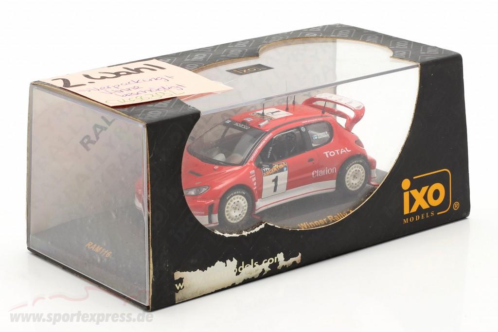 Peugeot 206 WRC #1 winner rally Argentina 2003   / 2nd choice
