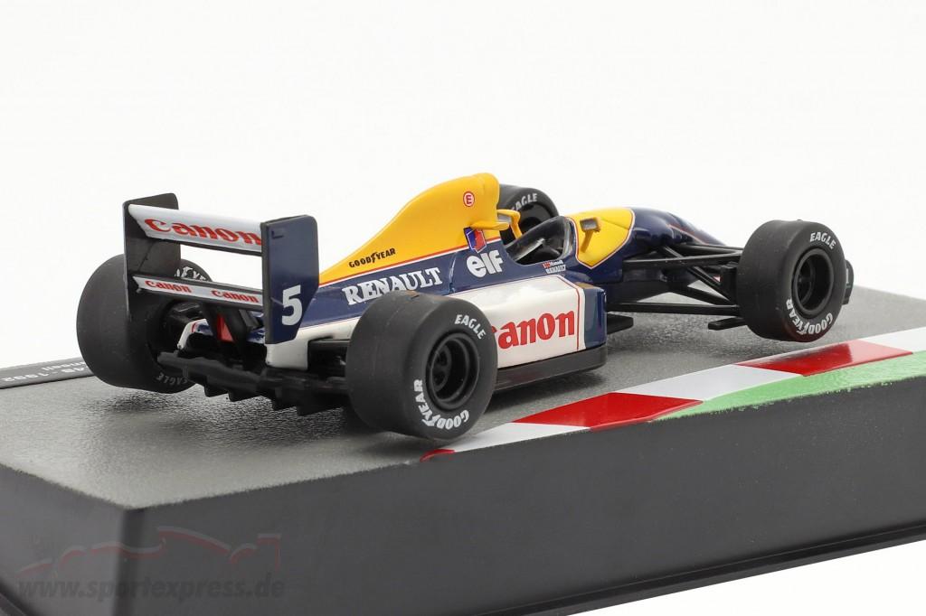 Nigel Mansell Williams FW14B #5 Formula 1 World Champion 1992
