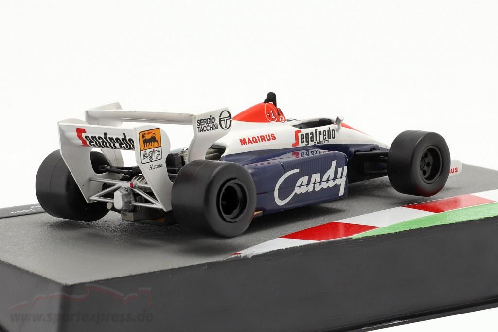 Ayrton Senna Toleman TG184 #19 Formel 1 1984