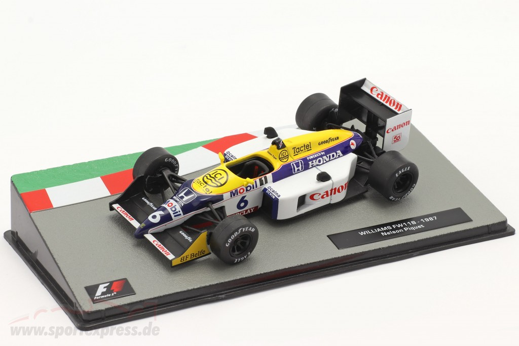 Nelson Piquet Williams FW11B #6 Formel 1 Weltmeister 1987