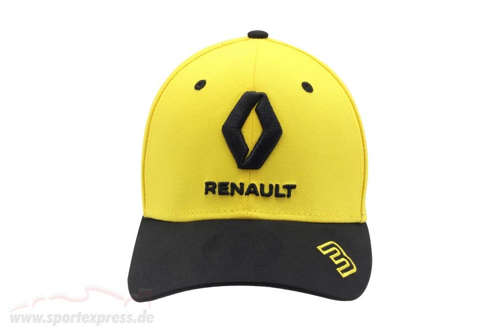 Cap Renault F1 Team 2019 #3 Ricciardo gelb / schwarz Größe M / L
