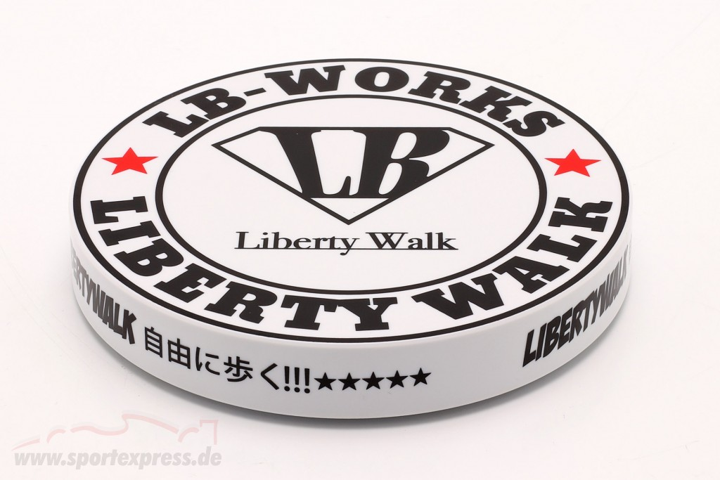 LB-Works Liberty Walk Type A Drehteller weiß / schwarz