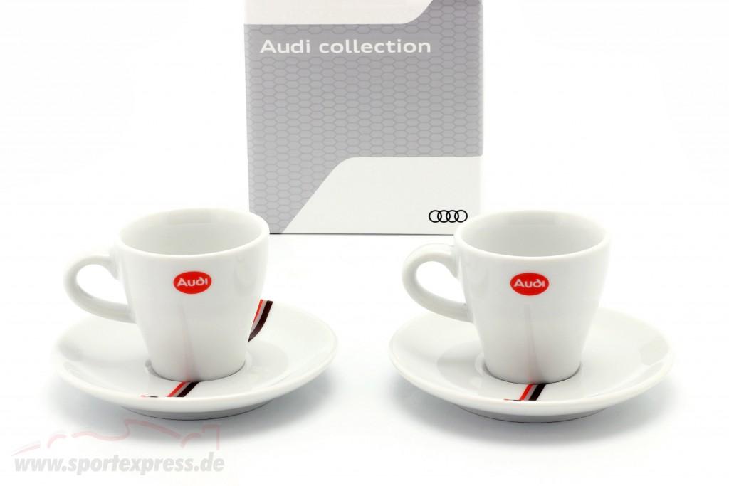 Espresso cups Heritage (set of 2) Audi quattro S1 #1 winner Pikes Peak 1987