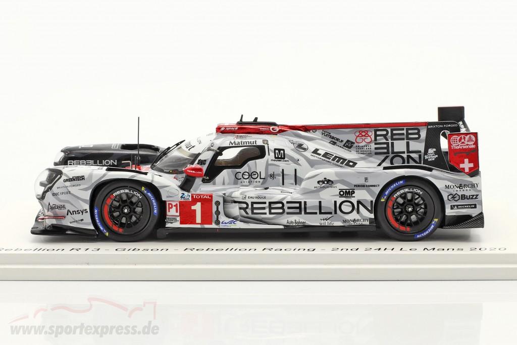 Rebellion R13 #1 2nd 24h LeMans 2020 Menezes, Nato, Senna