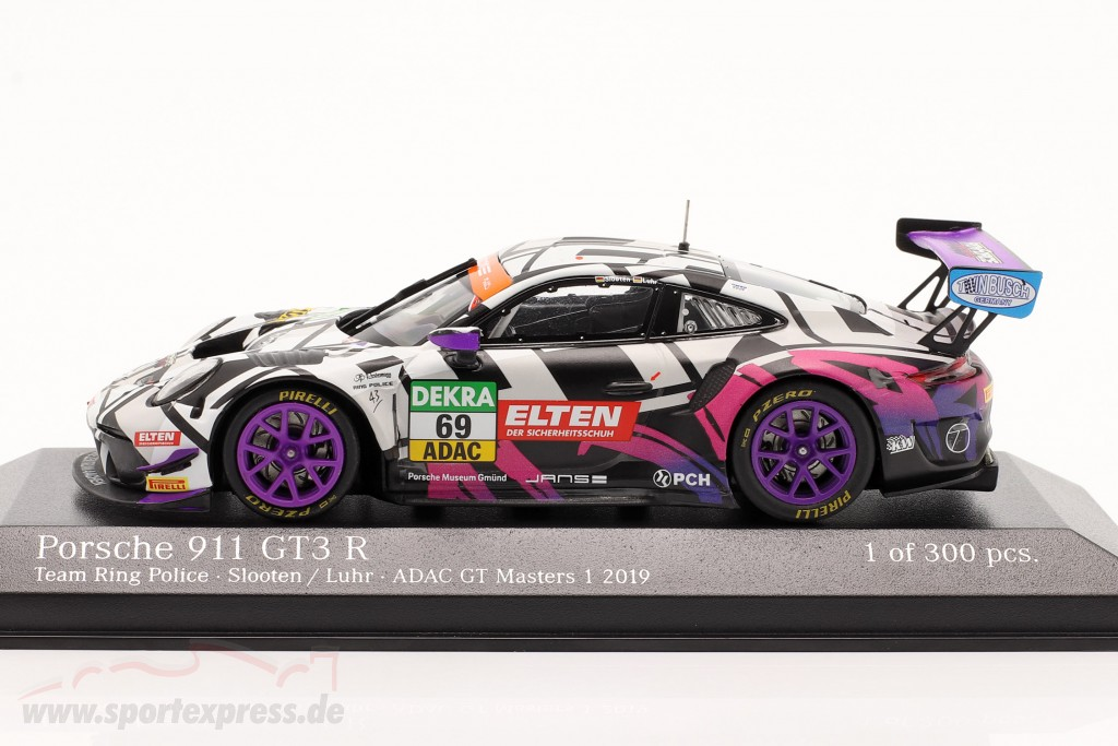 Porsche 911 GT3 R #69 ADAC GT Masters 2019 Iron Force