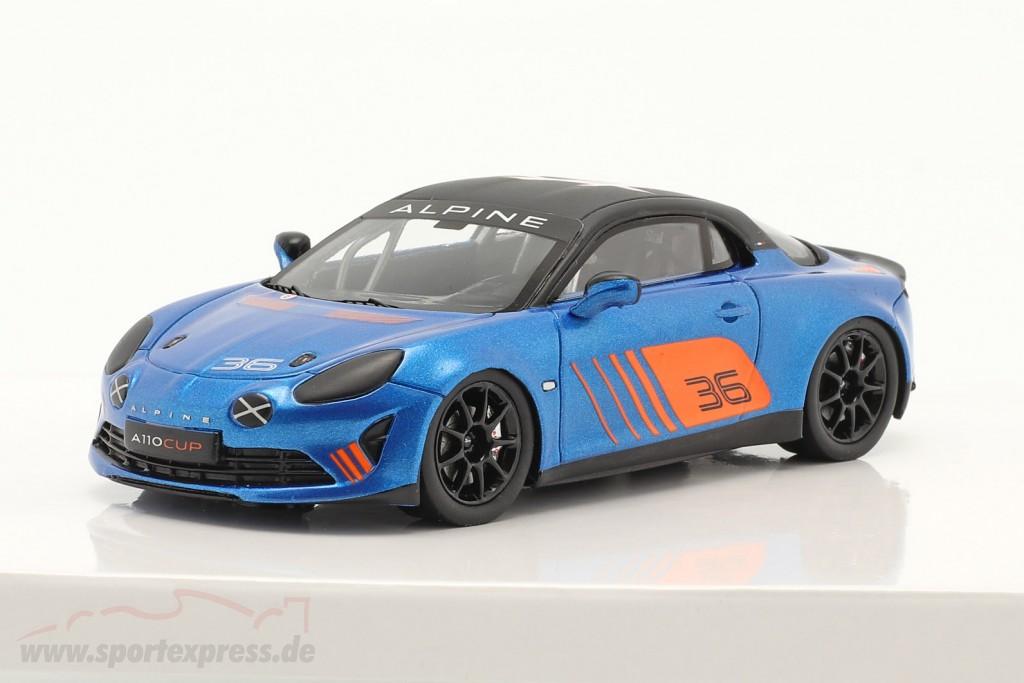 Alpine Renault A110 Cup #36 Presentation Car 2018