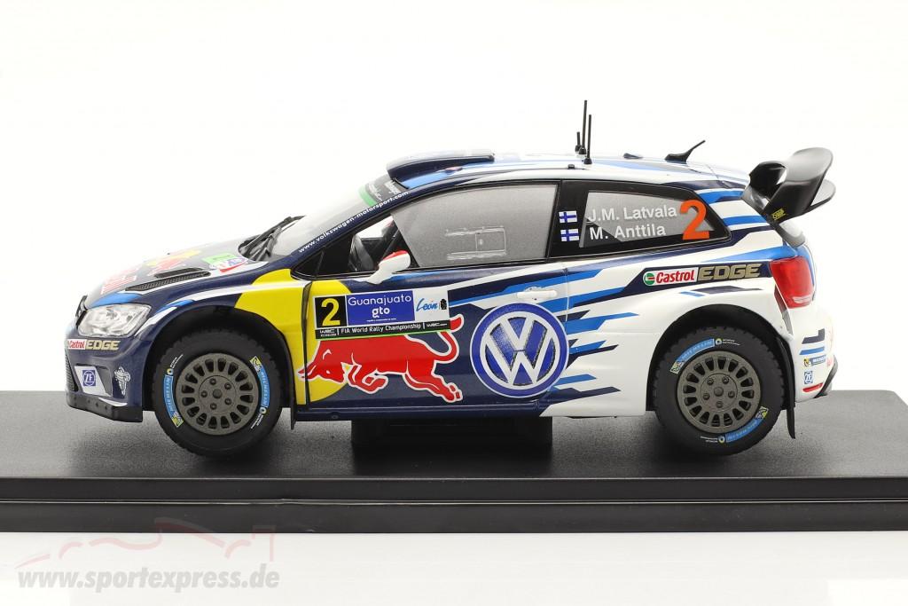 Volkswagen VW Polo R WRC #2 Sieger Rallye Guanajuato Mexiko 2016