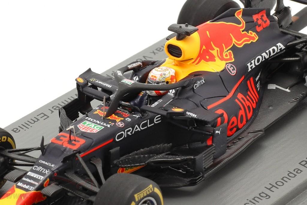 M. Verstappen Red Bull Racing RB16B #33 Sieger Emilia-Romagna F1 2021
