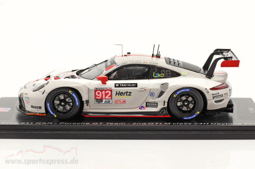 Porsche 911 RSR #912 2nd GTLM-Klasse 24h Daytona 2020 Porsche GT Team